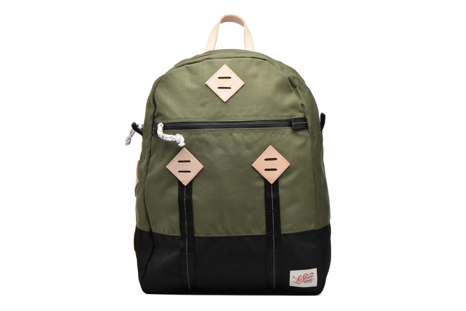 Colorblock Backpack Dull green