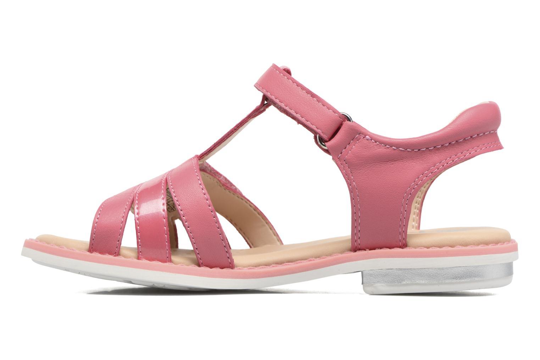 Sandales et nu-pieds Geox J S.Giglio A J62E2A Rose vue face