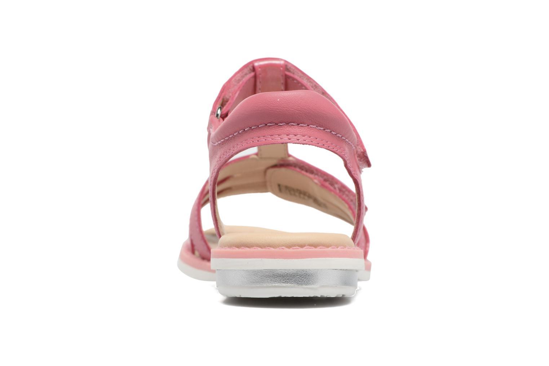 Sandales et nu-pieds Geox J S.Giglio A J62E2A Rose vue droite