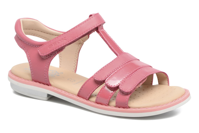 Sandales et nu-pieds Geox J S.Giglio A J62E2A Rose vue détail/paire