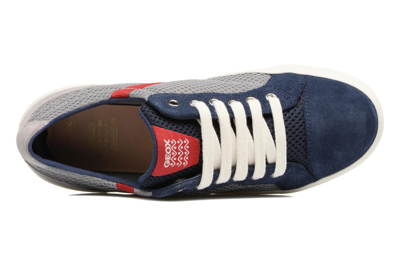 Baskets Geox J Alonisso B. J642CA Bleu vue gauche