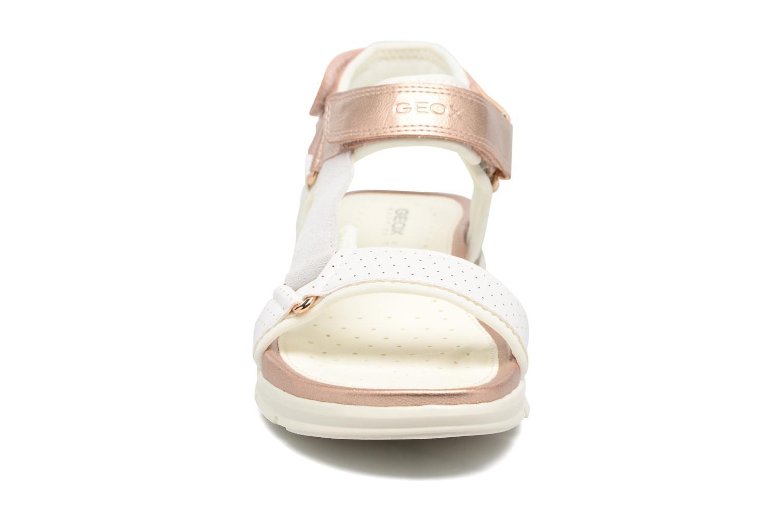 Sandales et nu-pieds Geox J Sand.SukieJ720VD Blanc vue portées chaussures