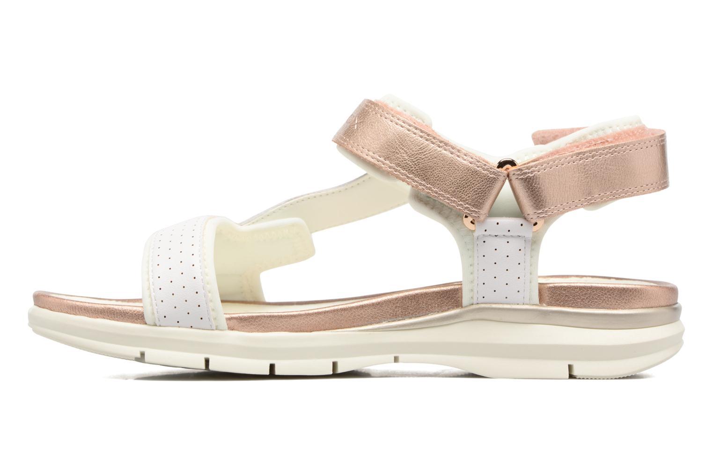 Sandales et nu-pieds Geox J Sand.SukieJ720VD Blanc vue face