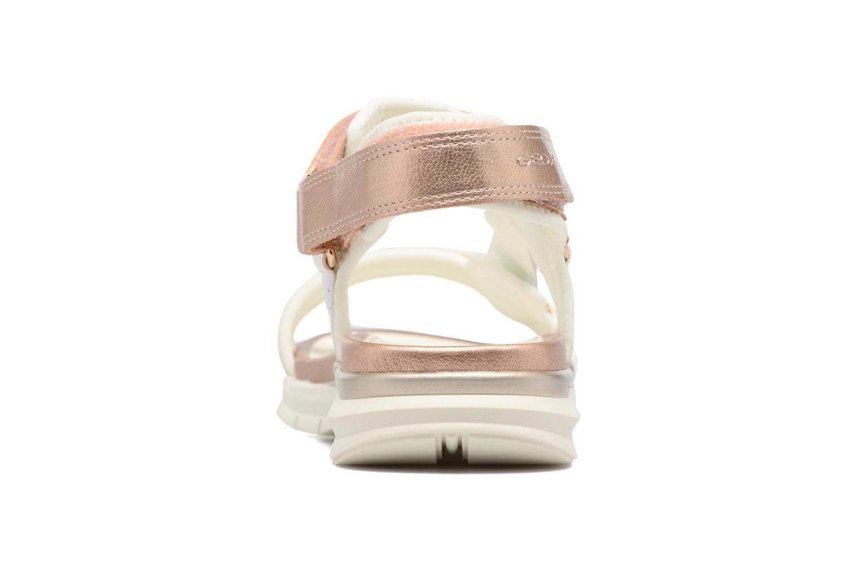 Sandales et nu-pieds Geox J Sand.SukieJ720VD Blanc vue droite