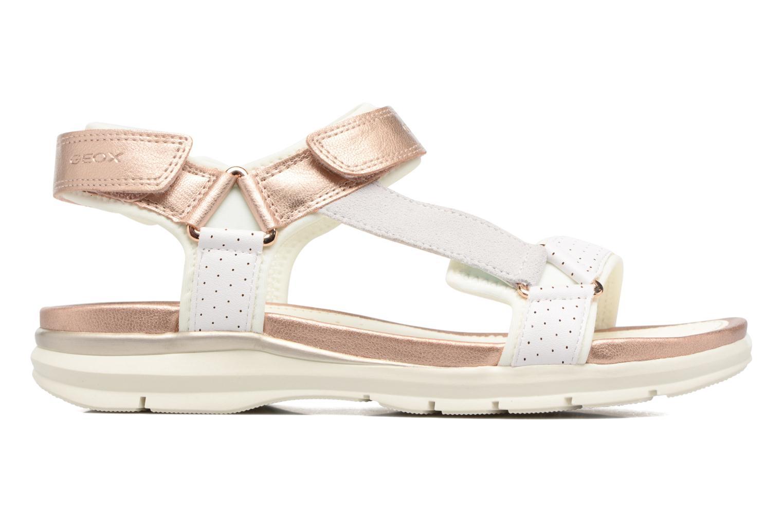 Sandales et nu-pieds Geox J Sand.SukieJ720VD Blanc vue derrière
