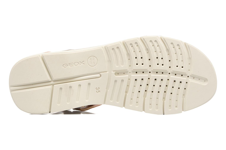 Sandales et nu-pieds Geox J Sand.SukieJ720VD Blanc vue haut