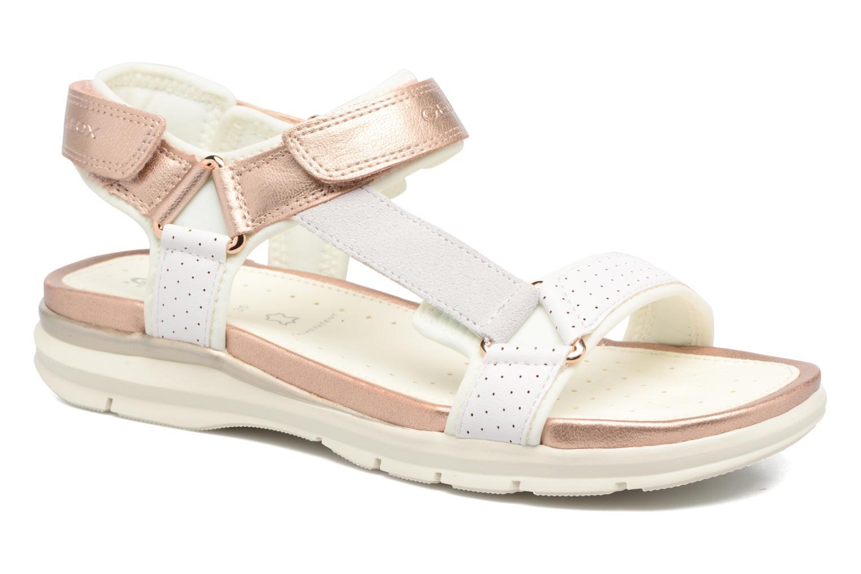Sandales et nu-pieds Geox J Sand.SukieJ720VD Blanc vue détail/paire