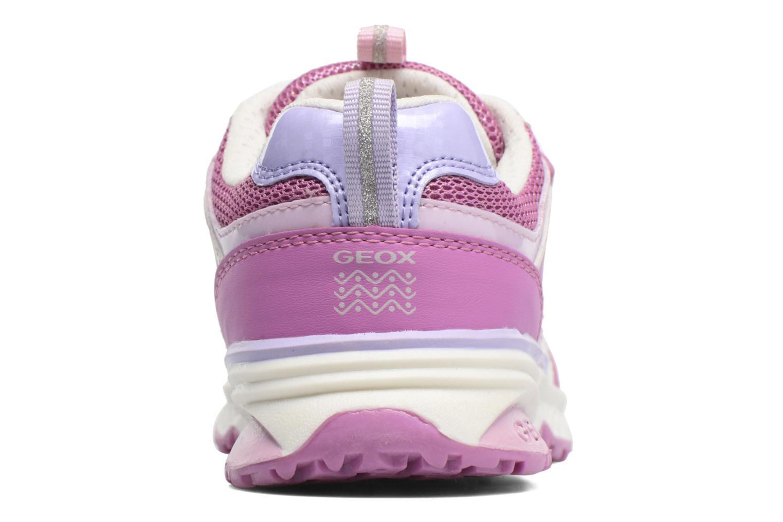 Sneakers Geox J Bernie G. J7211A Rosa immagine destra