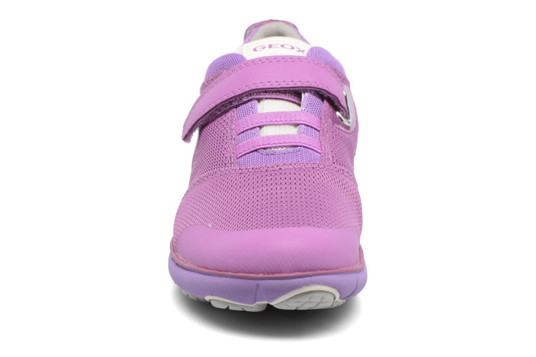 Baskets Geox J Nebula G. J722DA Violet vue portées chaussures