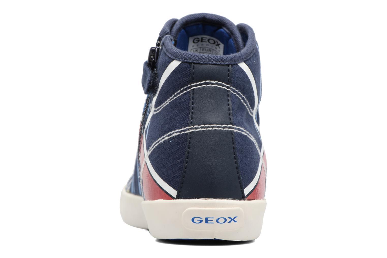 Sneakers Geox J Kiwi B. E - J72A7E Azzurro immagine destra