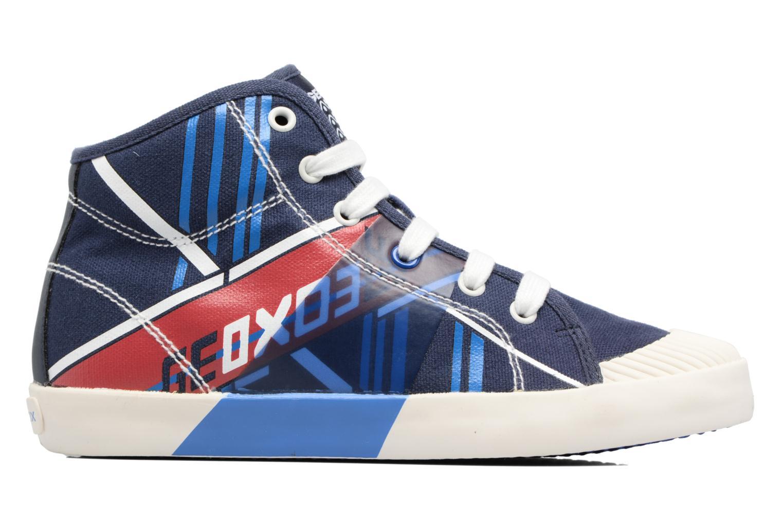 Sneakers Geox J Kiwi B. E - J72A7E Azzurro immagine posteriore
