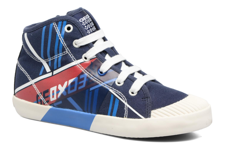 Sneakers Geox J Kiwi B. E - J72A7E Azzurro vedi dettaglio/paio