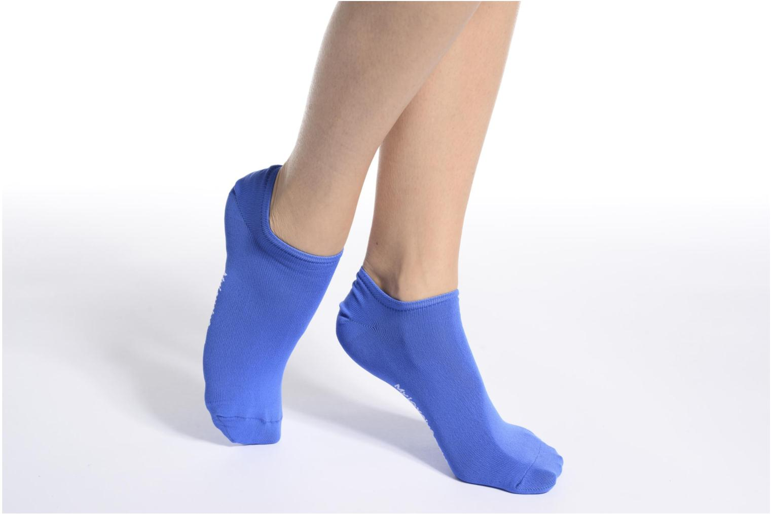 Chaussettes Invisibles Fluo SACHA Bleu Royal
