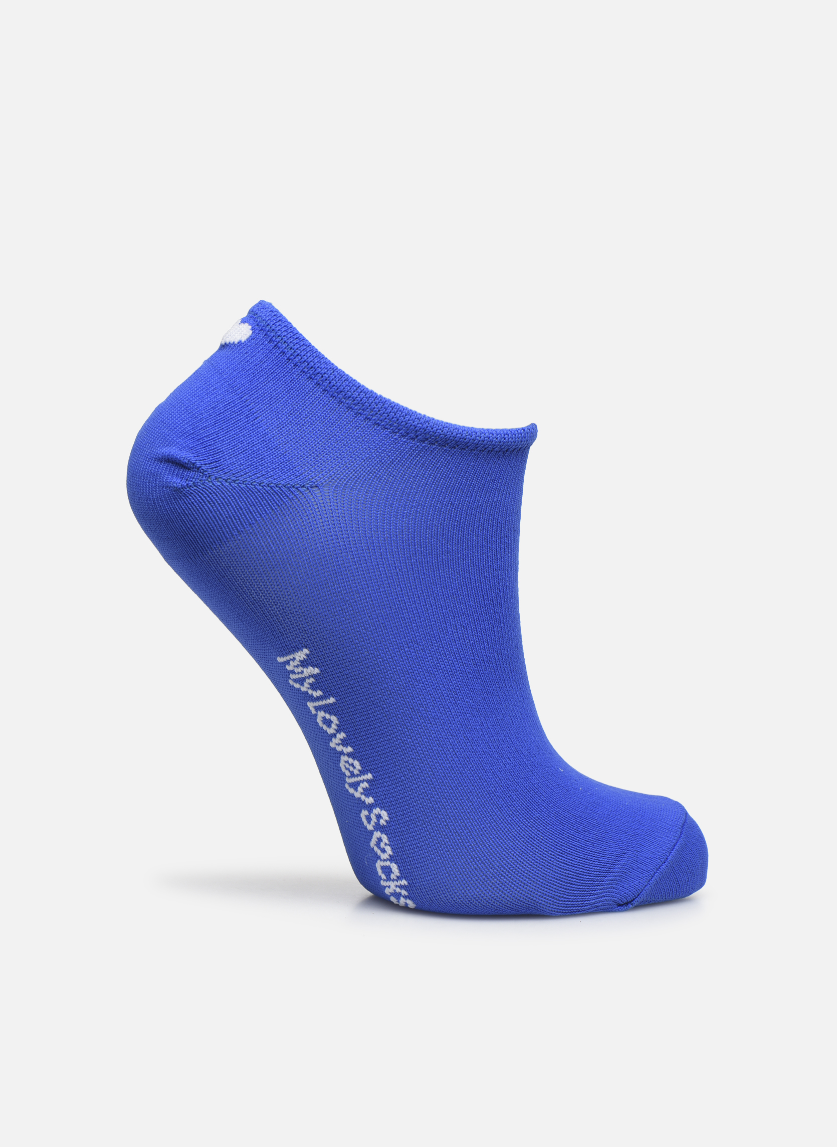 Chaussettes Invisibles Fluo SACHA Bleu Royal