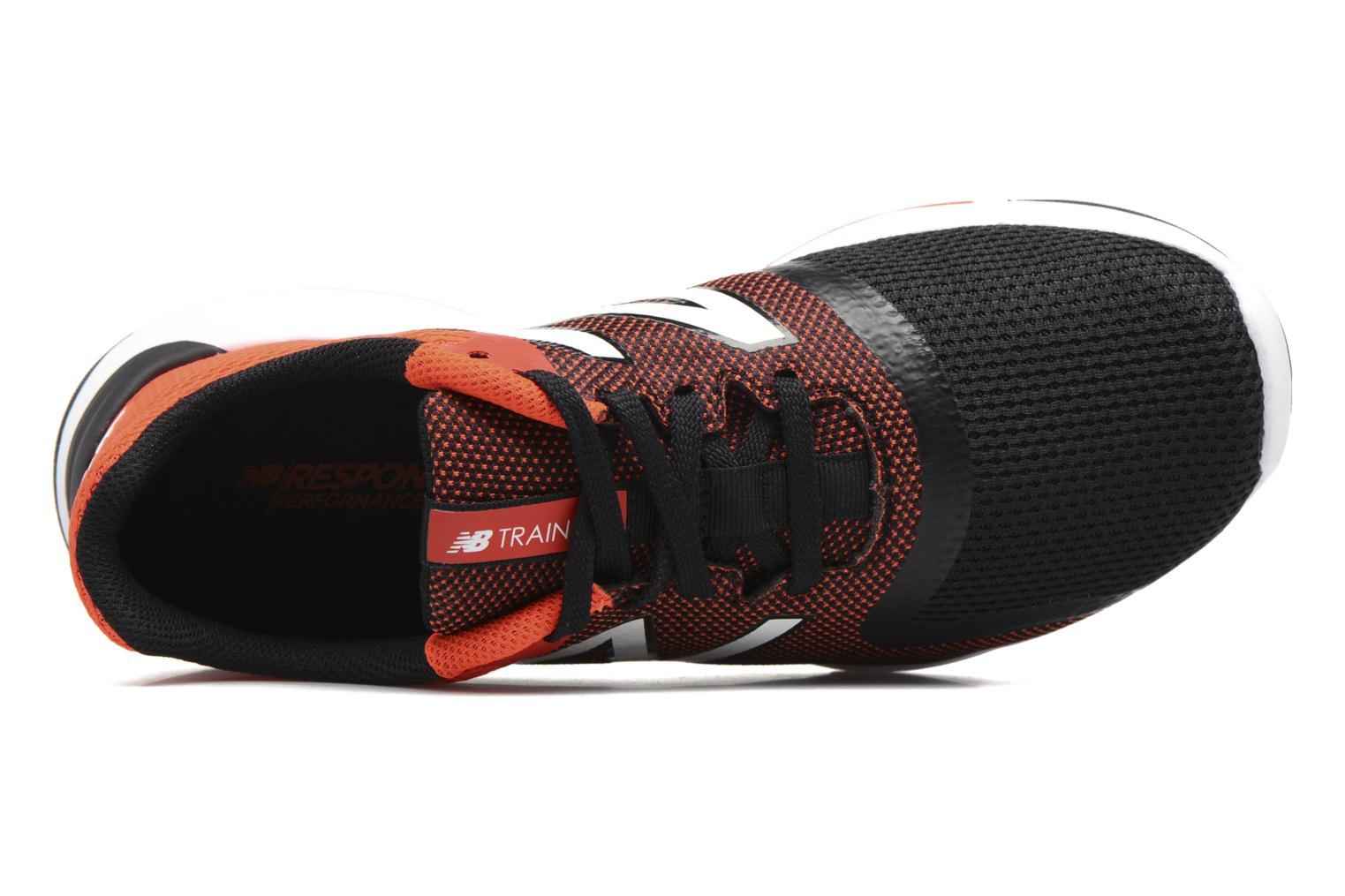 Sport shoes New Balance MX818 Orange view from the left