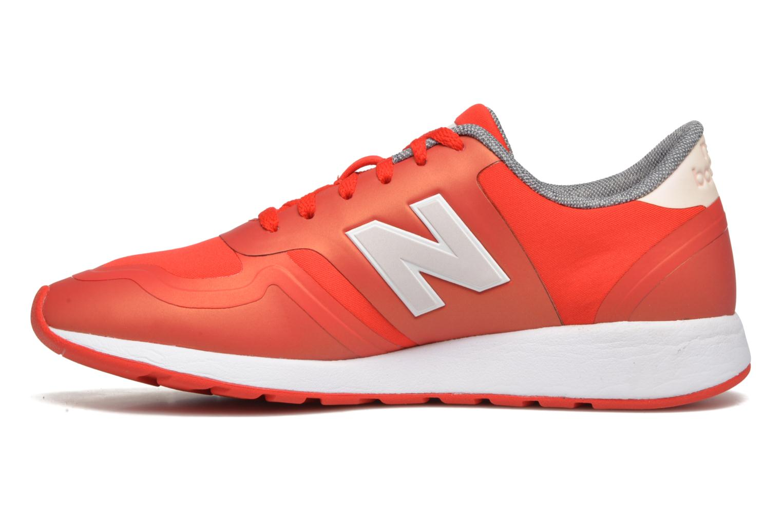 Trainers New Balance WRL420 Red front view