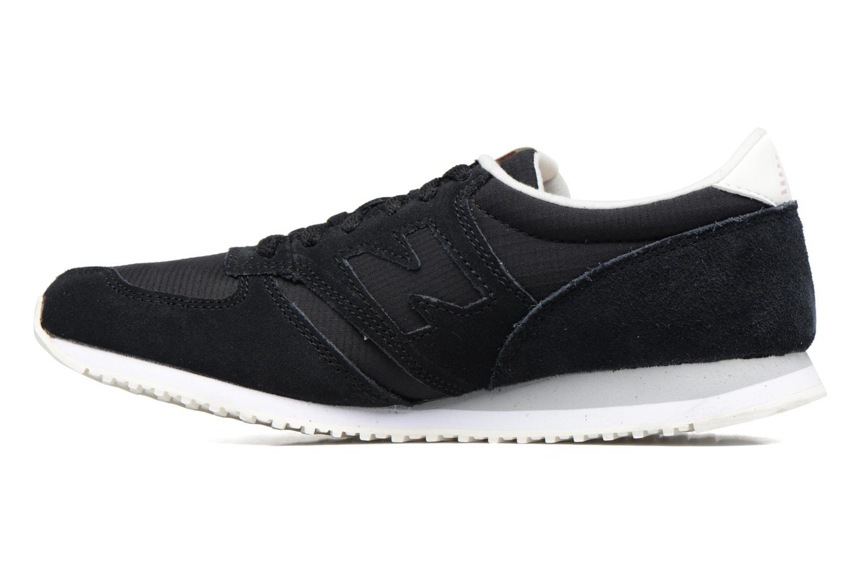 Sneaker New Balance WRL420 schwarz ansicht von vorne