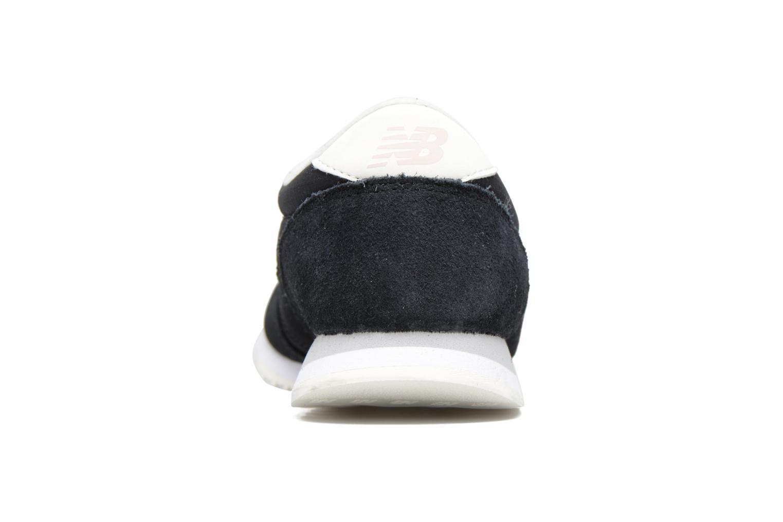Sneaker New Balance WRL420 schwarz ansicht von rechts