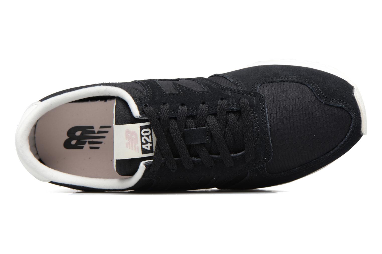 Sneaker New Balance WRL420 schwarz ansicht von links