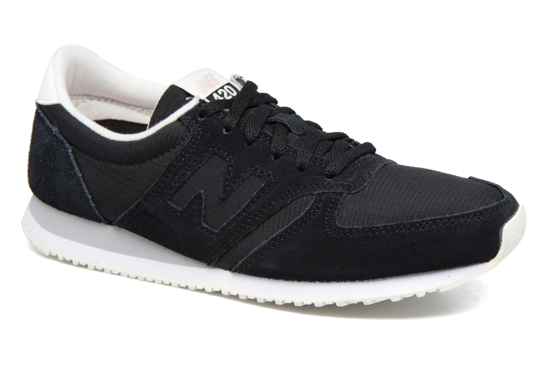 Sneaker New Balance WRL420 schwarz detaillierte ansicht/modell