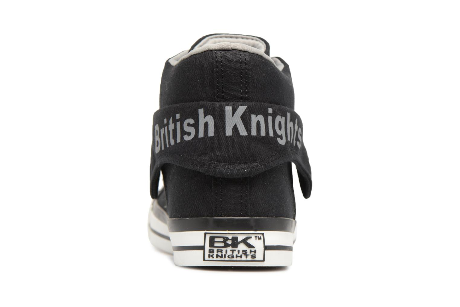Trainers British Knights Roco Black view from the right