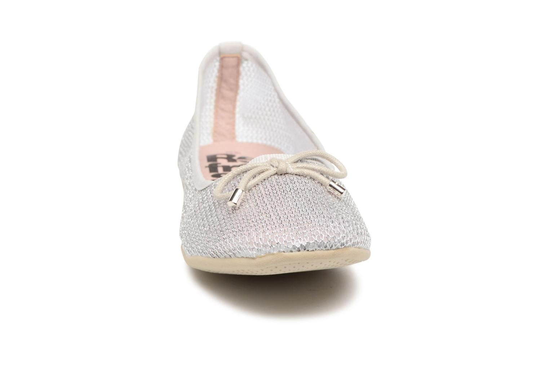 Ballerines Refresh Jala Argent vue portées chaussures