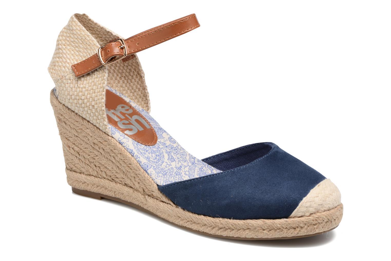 Espadrillos Refresh Malo Blå detaljeret billede af skoene