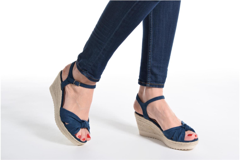 Sandales et nu-pieds Refresh Wizin Marron vue bas / vue portée sac