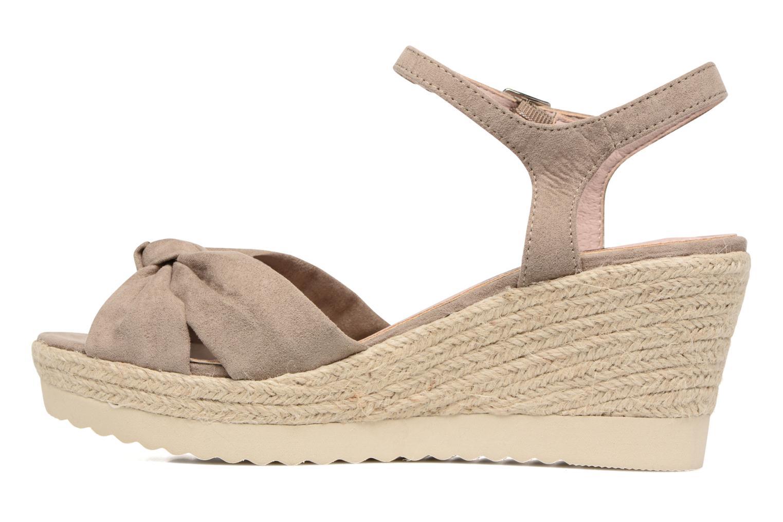 Sandales et nu-pieds Refresh Wizin Marron vue face