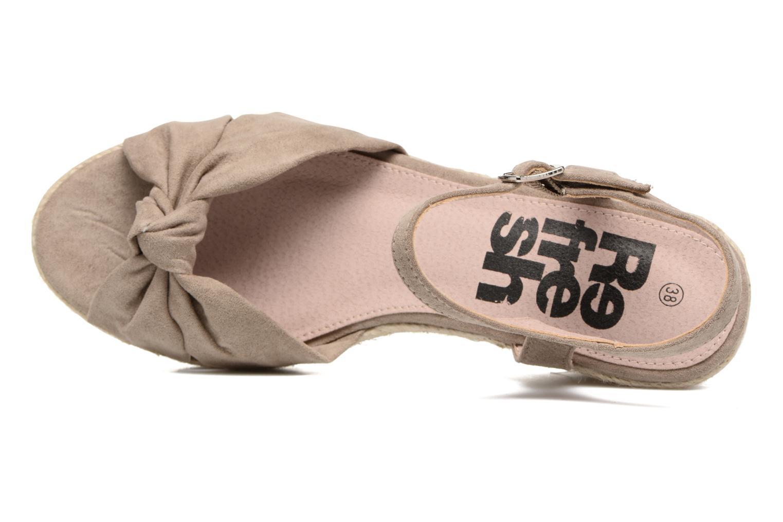 Sandales et nu-pieds Refresh Wizin Marron vue gauche