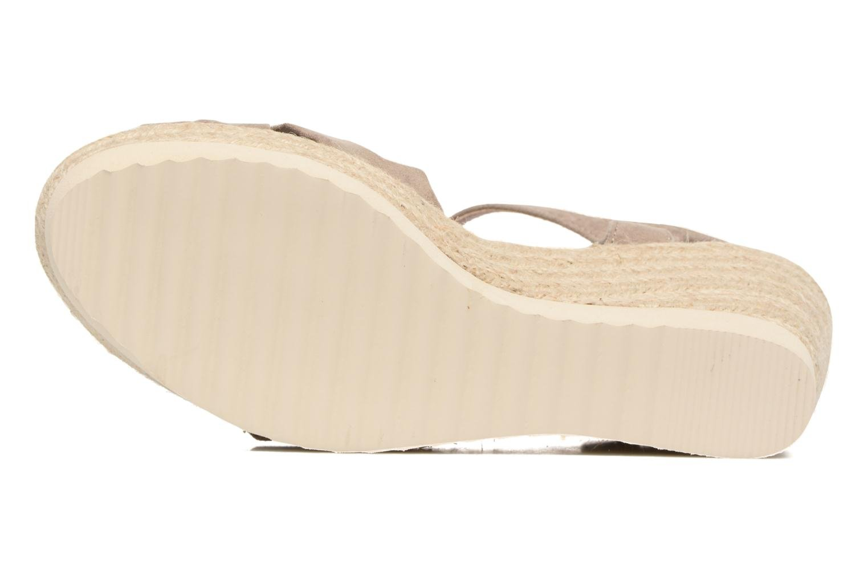 Sandales et nu-pieds Refresh Wizin Marron vue haut