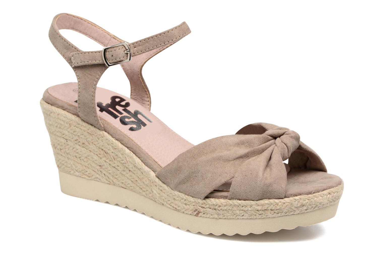 Sandales et nu-pieds Refresh Wizin Marron vue détail/paire