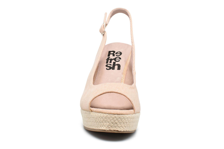 Sandales et nu-pieds Refresh Acma Beige vue portées chaussures