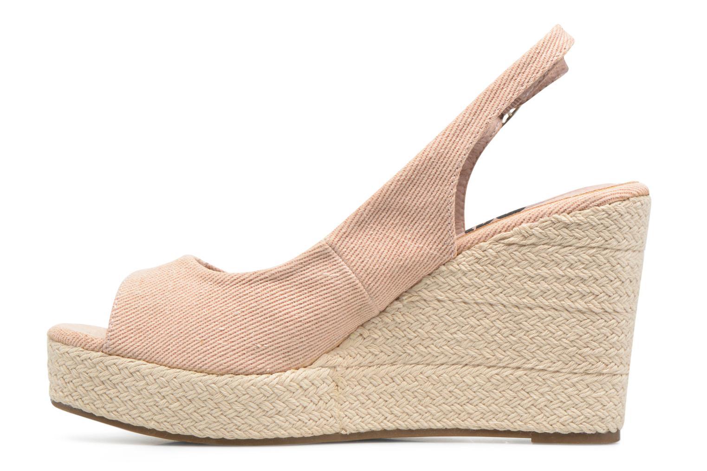 Sandales et nu-pieds Refresh Acma Beige vue face