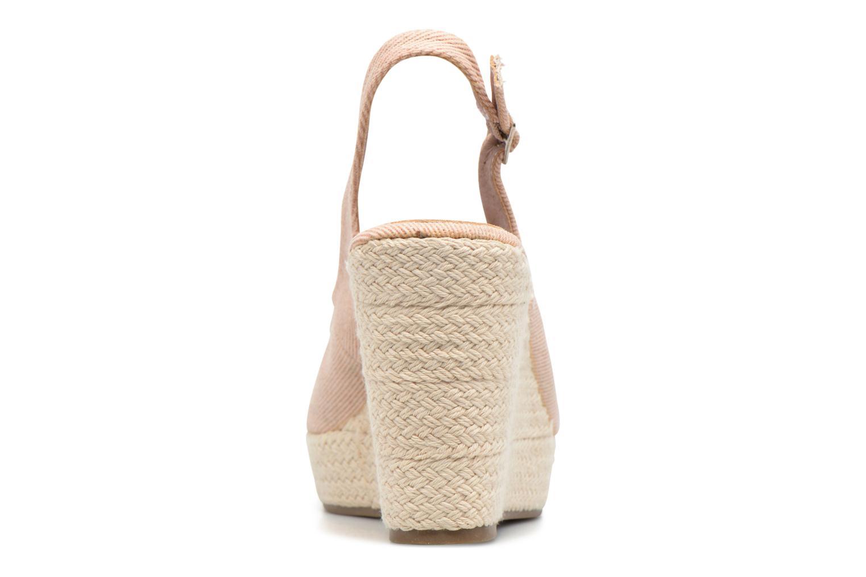 Sandales et nu-pieds Refresh Acma Beige vue droite