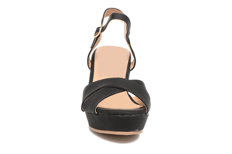 Sandales et nu-pieds Refresh Opar Noir vue portées chaussures