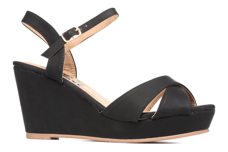 Sandales et nu-pieds Refresh Opar Noir vue derrière