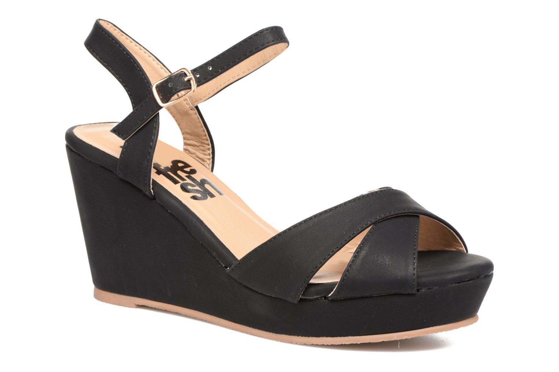 Sandales et nu-pieds Refresh Opar Noir vue détail/paire