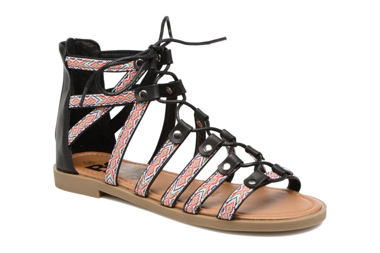 Refresh Ilna (Noir) - Sandales et nu-pieds chez Sarenza (283584)