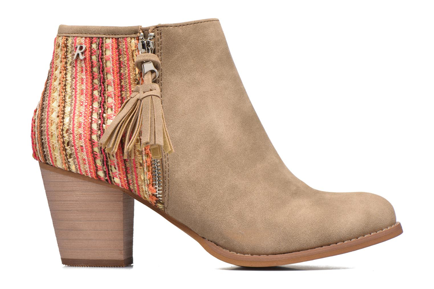 Ankle boots Refresh Sirdy Brown back view