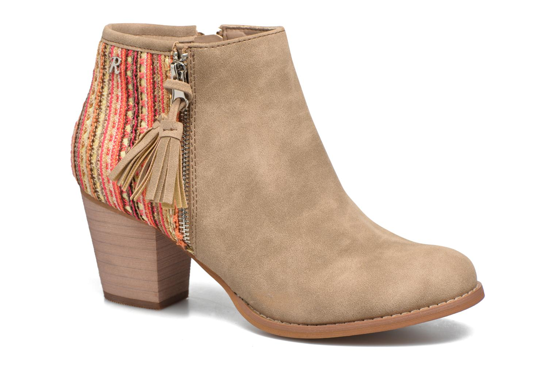 Bottines et boots Refresh Sirdy Marron vue détail/paire