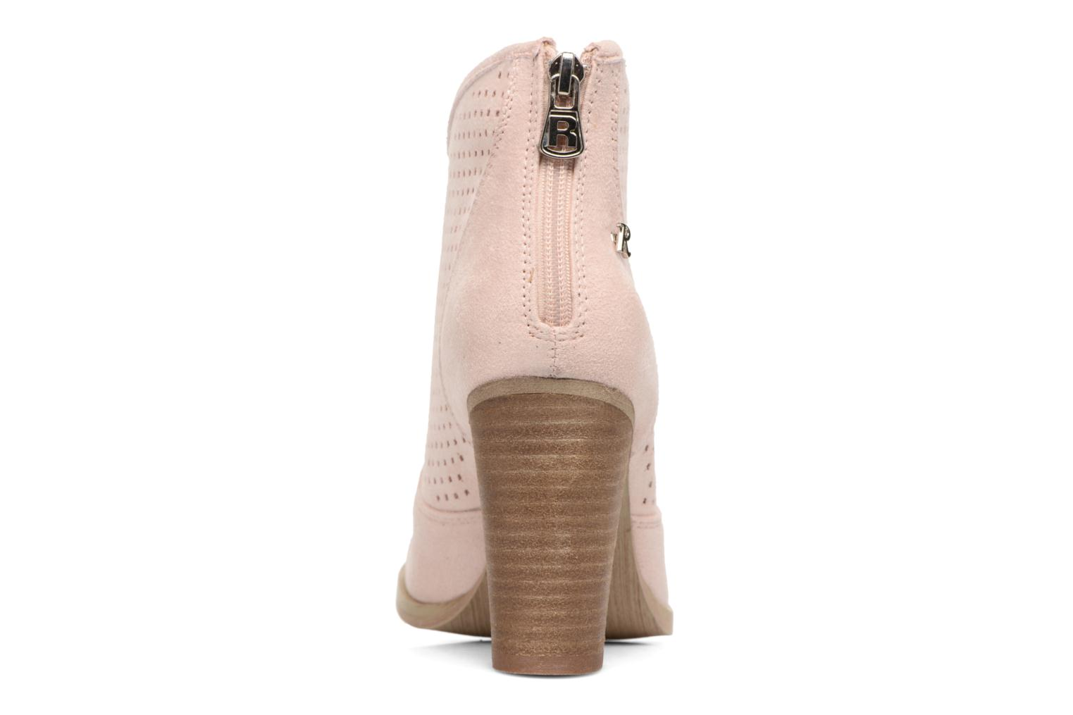 Ankle boots Refresh Lono Pink view from the right