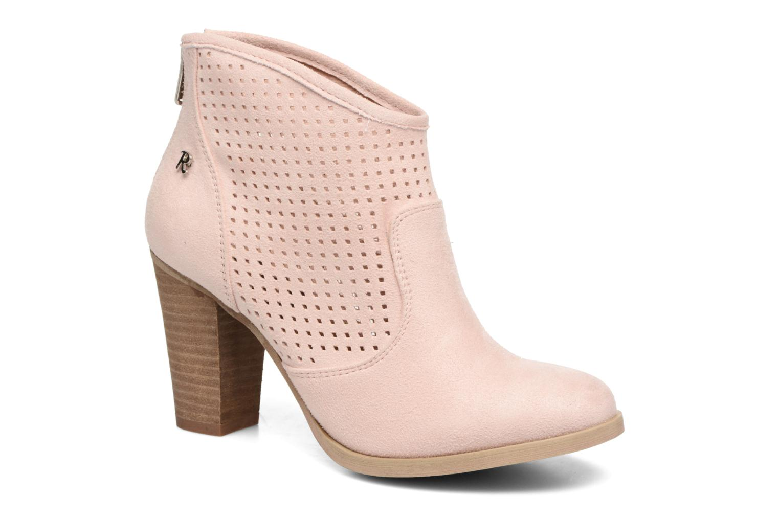 Refresh Lono (Rose) - Bottines et boots chez Sarenza (283589)