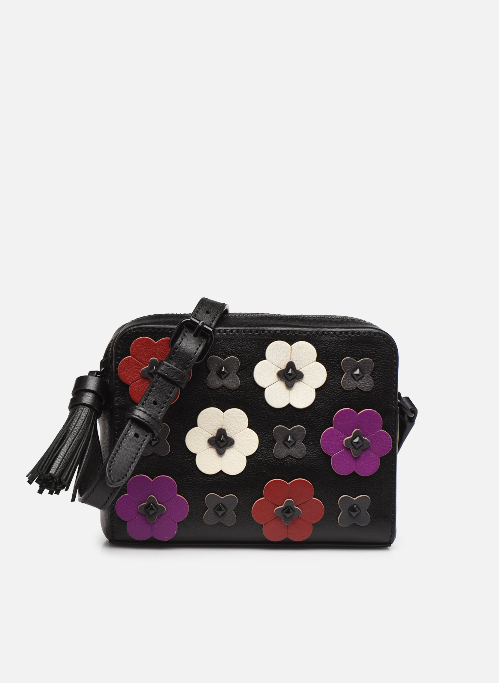 Floral Applique Camera bag