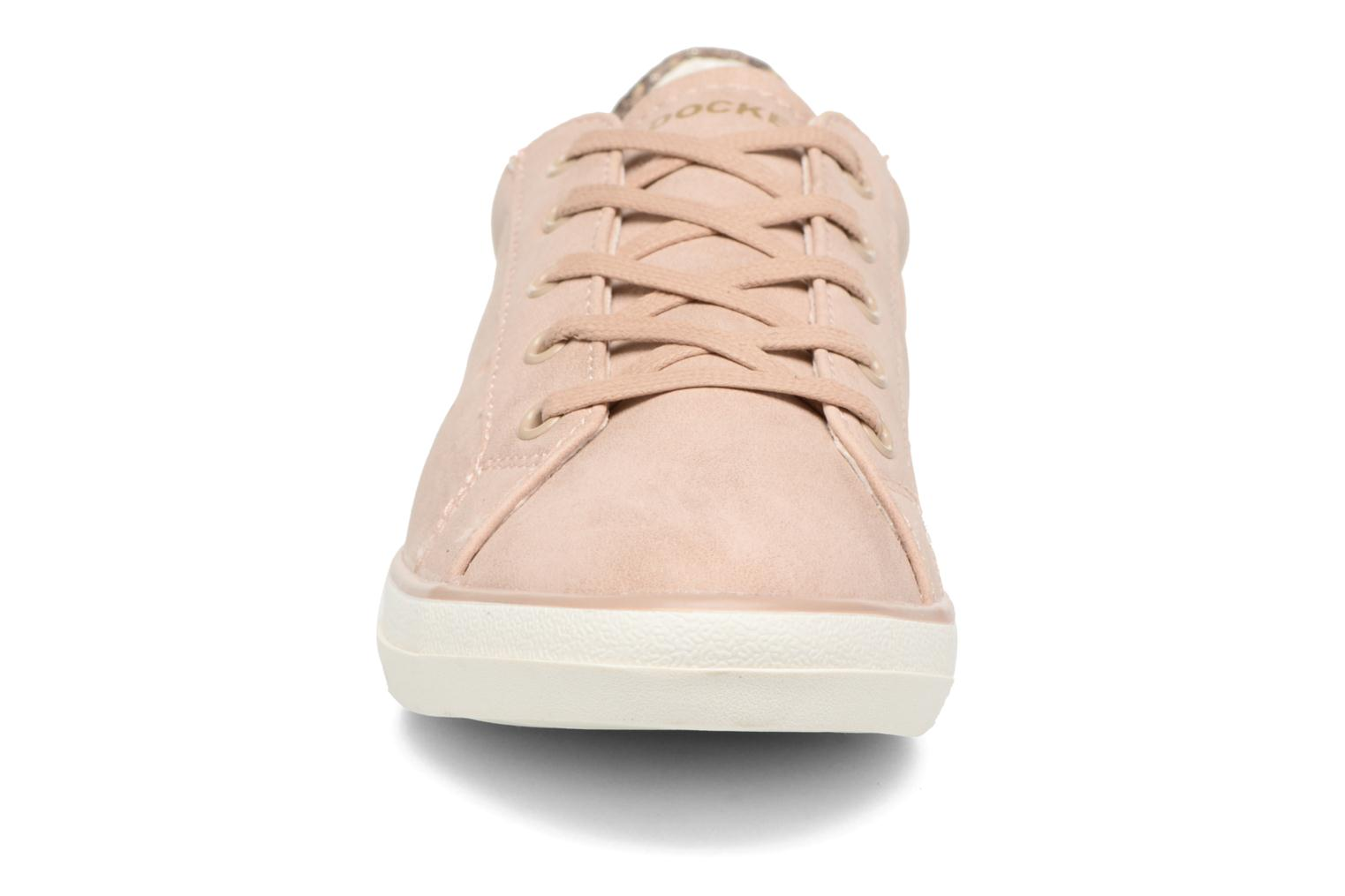 Baskets Dockers Molly Rose vue portées chaussures