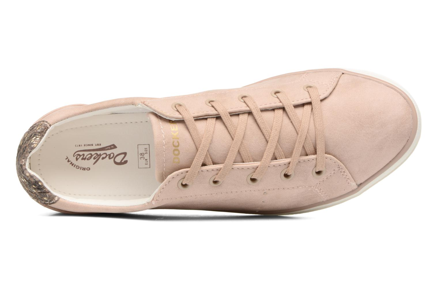 Trainers Dockers Molly Pink view from the left