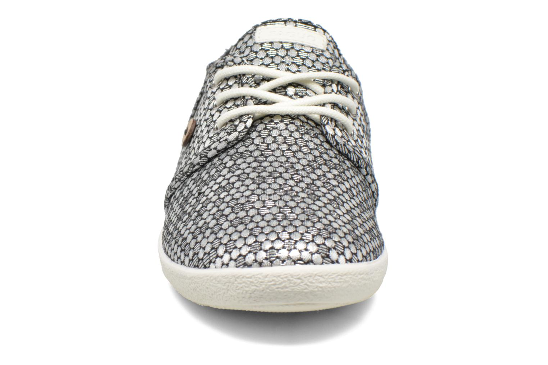 Baskets Faguo Cypress01 Argent vue portées chaussures