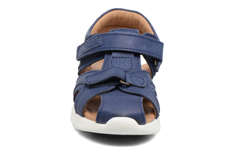 Sandales et nu-pieds Bisgaard Jorn Bleu vue portées chaussures