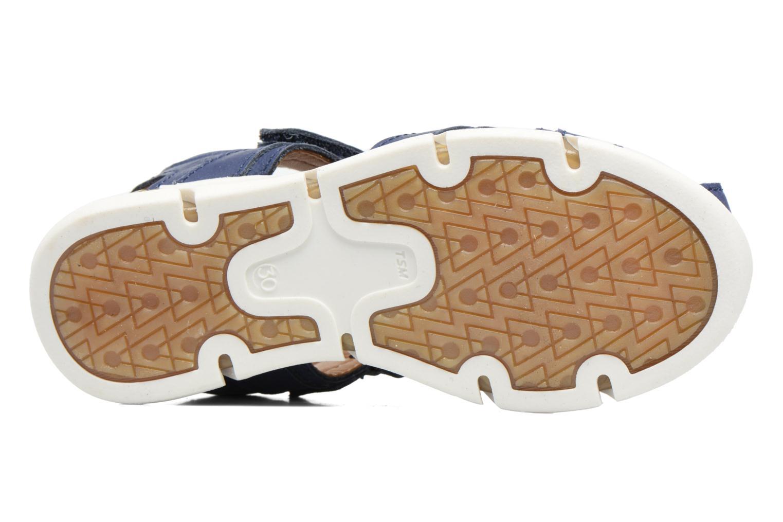 Sandales et nu-pieds Bisgaard Jorn Bleu vue haut