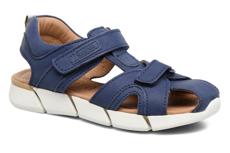 Sandales et nu-pieds Bisgaard Jorn Bleu vue détail/paire